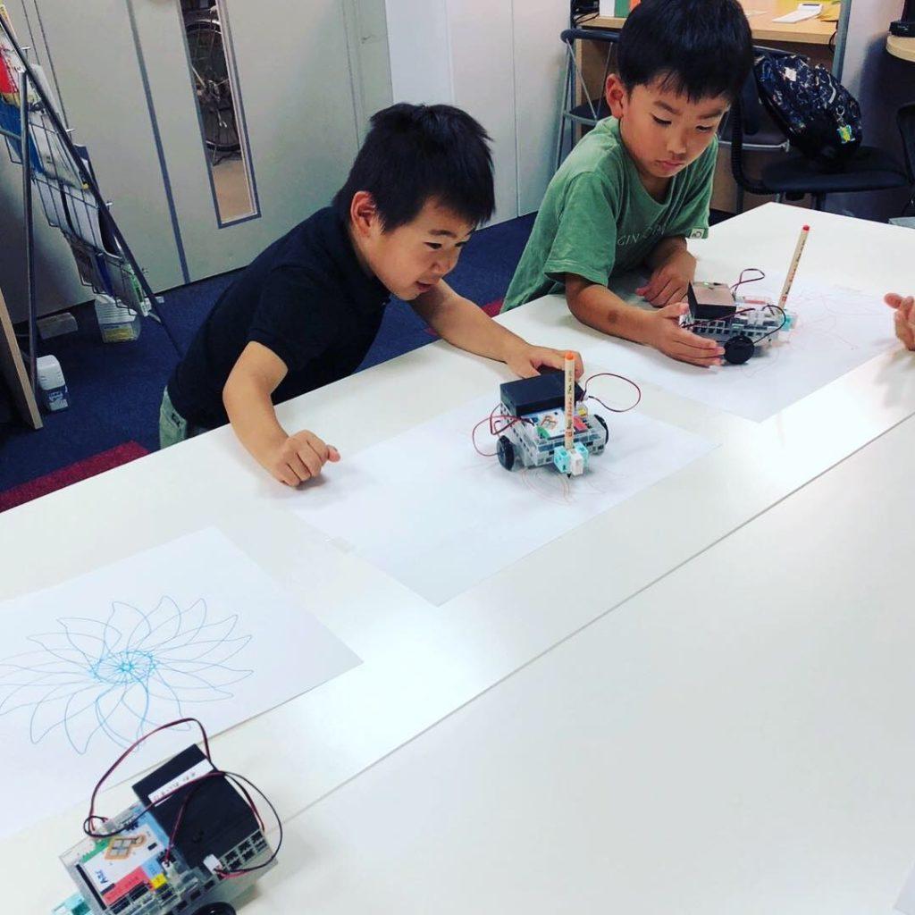 お絵描きロボット